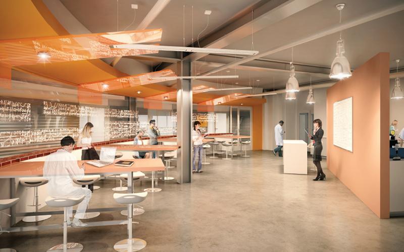 Infrastructure engineering laboratories rendering