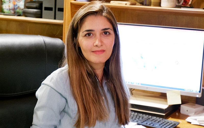S photo of UMD CEE student Sanaz Aliari