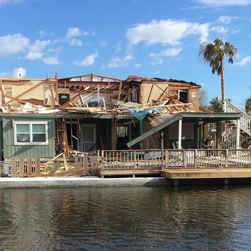 Home after Hurricane Harvey