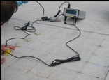 UPV and GPR - NDT testing